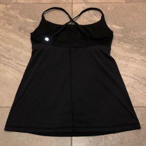 Lululemon black tank top